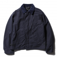 ENGINEERED GARMENTS | NA2 Jacket - Cotton Double Cloth - Dk.Navy