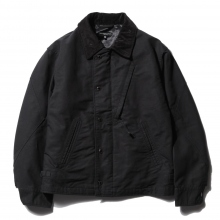 ENGINEERED GARMENTS | NA2 Jacket - Cotton Double Cloth - Black