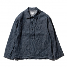 ENGINEERED GARMENTS / エンジニアドガーメンツ | EG Workaday Army Shirt - 8oz Denim - Indigo ☆