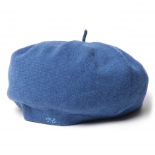 Porter Classic / ポータークラシック | H/W KNIT BERET - Blue ☆
