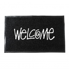 STUSSY / ステューシー | PVC Welcome Mat - Black