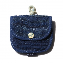 Porter Classic / ポータークラシック | PC KENDO / PC SASHIKO COIN PURSE - Blue