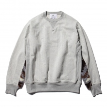 HABANOS / ハバノス | RETRO PILE SWEAT SHIRTS - Brown