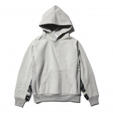HABANOS / ハバノス | RETRO PILE SWEAT PARKA - Charcoal Black