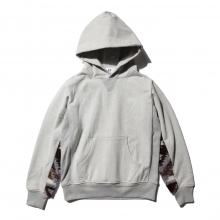 HABANOS / ハバノス | RETRO PILE SWEAT PARKA - Brown