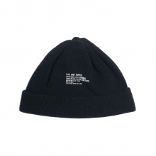 N.HOOLYWOOD / エヌハリウッド | 972-AC01 pieces WATCH CAP - Black