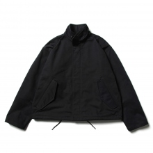 URU / ウル | POLYESTER RAYON / ZIP UP BLOUSON - D.Navy