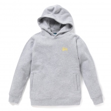 STUSSY KIDS / ステューシー キッズ | Kids Basic Stussy Hood - Grey Heather ★