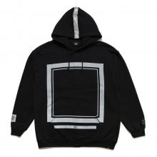 ELVIRA / エルビラ | REFLECT FRAME HOODY - Black