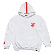 ELVIRA / エルビラ | RETRO ROSE HOODY - White