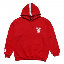 ELVIRA / エルビラ | RETRO ROSE HOODY - Red