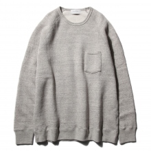 FLISTFIA / フリストフィア | Crew Neck Sweat - Light Gray