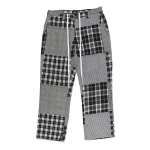 ELVIRA / エルビラ | PATCHWORK PANTS - Glen Check