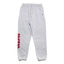ELVIRA / エルビラ | BREAK REVERSE WEAVE PANTS - Grey