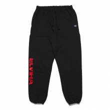 ELVIRA / エルビラ | BREAK REVERSE WEAVE PANTS - Black