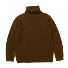 GOODENOUGH / グッドイナフ | TURTLENECK SWEATER - Khaki