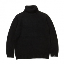 GOODENOUGH / グッドイナフ | TURTLENECK SWEATER - Black