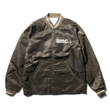 ....... RESEARCH | Coach Jacket - amc print - Khaki