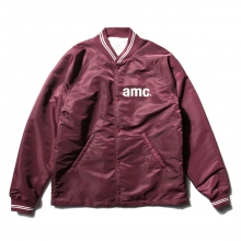 ....... RESEARCH | Coach Jacket - amc print - Wine
