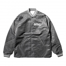 ....... RESEARCH | Coach Jacket - amc print - Gray