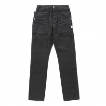 SASSAFRAS / ササフラス | FALL LEAF SPRAYER PANTS - Back Satin - Charcoal ★
