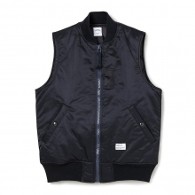 BEDWIN / ベドウィン | TYPE MA-1 VEST 「DUFFY」 - Black
