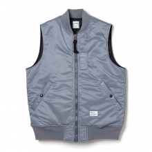 BEDWIN / ベドウィン | TYPE MA-1 VEST 「DUFFY」 - Gray