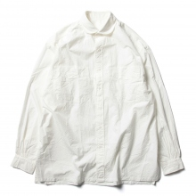 Porter Classic / ポータークラシック | WIDE POCKET SHIRT - White
