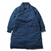 Porter Classic / ポータークラシック | WEATHER DOWN COAT - Navy