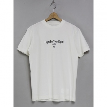 ....... RESEARCH | Favorite Track Tee (F.F.Y.R.) - White
