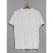 ....... RESEARCH | Pocket Tee S/S - Plain - White