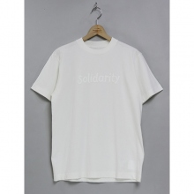 ....... RESEARCH | Print Tee (Solidarity) - White