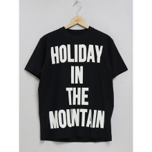 ....... RESEARCH | HITM Big Print Tee - ビッグT - Black