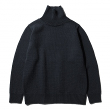 BATONER / バトナー | FELTED TURTLE NECK (メンズ) - Black