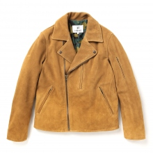 HABANOS / ハバノス | LEATHER RIDERS JACKET - Camel