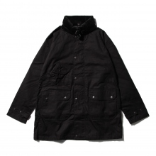 South2 West8 / サウスツーウエストエイト | South2 West8 - Carmel Coat - Paraffin Coating - Black
