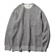 FLISTFIA / フリストフィア | Crew Neck Sweat - Oatmeal