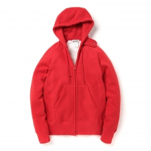 ENGINEERED GARMENTS / エンジニアドガーメンツ | EG Workaday Raglan Zip Hoody - Red