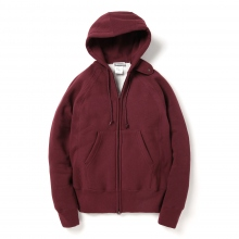ENGINEERED GARMENTS / エンジニアドガーメンツ | EG Workaday Raglan Zip Hoody - Maroon