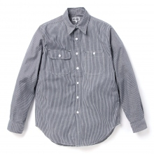 ENGINEERED GARMENTS | EG Workaday Utility Shirt - Railroad St. - Indigo