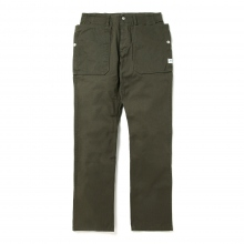 SASSAFRAS / ササフラス | FALL LEAF SPRAYER PANTS - DUCK - Olive ★