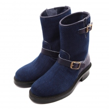 Porter Classic / ポータークラシック | PC KENDO ENGINEER BOOTS - Blue
