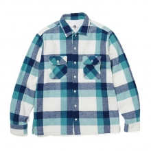 GOODENOUGH / グッドイナフ | GE FLANNEL SHIRT - White