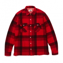GOODENOUGH / グッドイナフ | GE FLANNEL SHIRT - Red