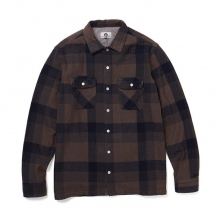 GOODENOUGH / グッドイナフ | GE FLANNEL SHIRT - Charcoal