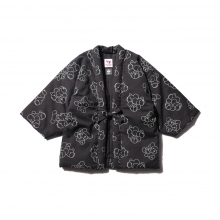 COW BOOKS / カウブックス | Reading Jacket Bear Heads KIDS (中綿入り) - Black