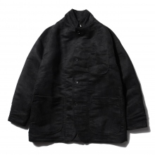 RANDT / アールアンドティー | RANDT - Studio Jacket - Polyester Faux Suede - Black