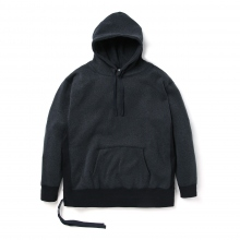 METAPHORE / メタファー | WOOL LIKE FLEECE PARKA - Navy