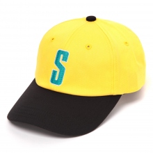 STUSSY KIDS / ステューシー キッズ | Kids Vintage S Logo Cap - Yellow ★
