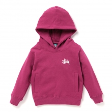 STUSSY KIDS / ステューシー キッズ | Kids Basic Stussy Hood - Grape ★